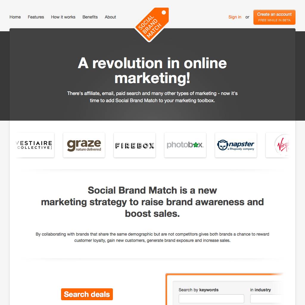 Social Brand Match